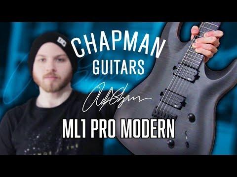 Chapman Guitars ML1 Pro Modern - Metal   Pete Cottrell