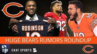 Chicago Bears Rumors: Tyrann Mathieu Free Agency Rumors, Bears NFL Draft News, Allen Robinson Hurt