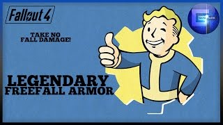 Fallout 4 - Rare Legendary Freefall Armor Location (Take No Fall Damage)