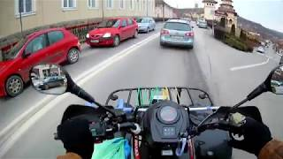 ATV Linhai ,,Azi mergem la pizza la Blaj''