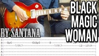 Santana - Black Magic Woman Intro Guitar Lesson (With Tabs)