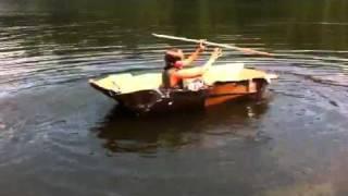 Sinking Cardboard Boat