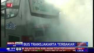 Bus TransJakarta Berasap Tebal, Sejumlah Penumpang Terluka