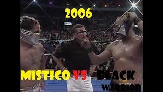 Mistico Sin Cara VS Black Warrior MASCARA X MASCARA