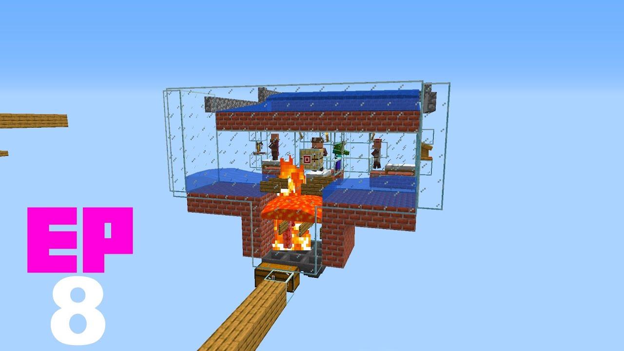 Minecraft en 1 bloque - EP8 - Granja de hierro