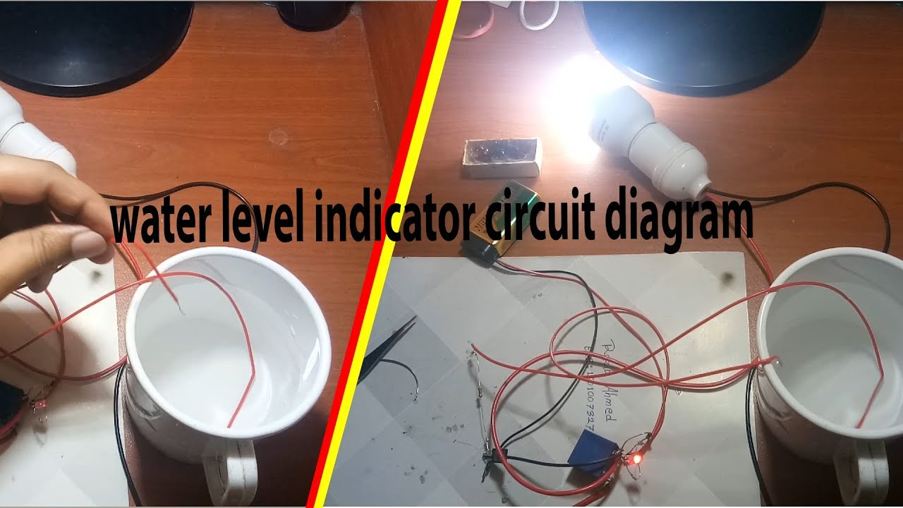Water Level Indicator Circuit Diagram By Earthbondhon Youtube