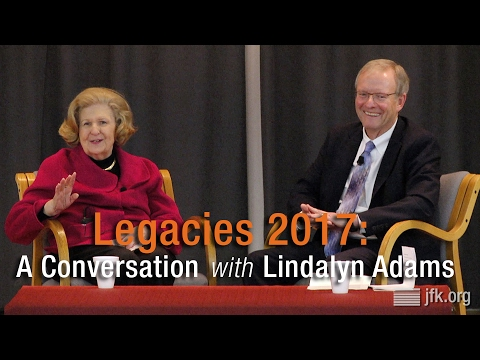 Legacies 2017: A Conversation with Lindalyn Adams