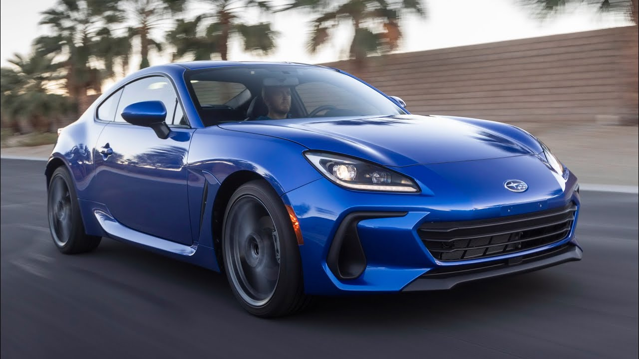 Download FIRST LOOK: 2022 Subaru BRZ Coupe