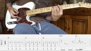 "MUDHONEY - ""Suck You Dry"" Guitar-Lesson+TABS / Guitar-Part Of Steve Turner"