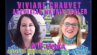 ✨Arcturian Hybrid Viviane Chauvet Represents Arcturian Star Civilization.