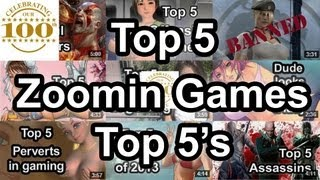 Top 5 - Zoomin.TV Games Top 5's