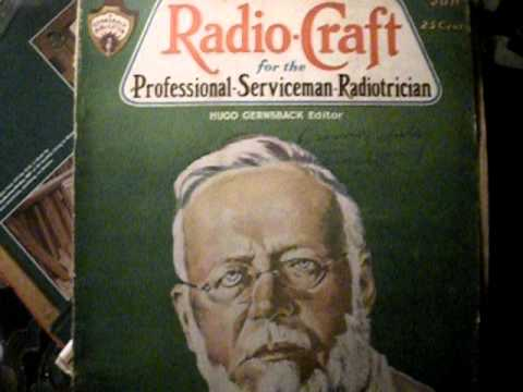 The Ballad of Reginald Fessenden ( Inventor of A.M. radio)  Will Adams  Housatonic ma