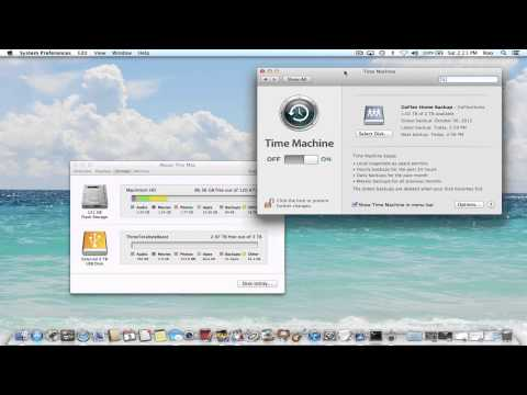 "How to Delete Backups Listed Within ""About This Mac Storage"""