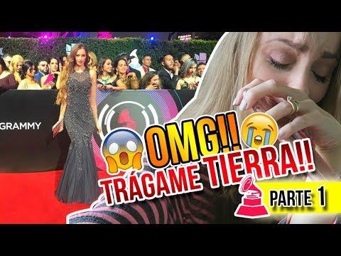 ME CAÍ EN LA ALFOMBRA ROJA!! LATIN GRAMMYS 2017 - PARTE 1 | Katie Angel