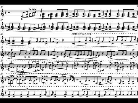 Keith Jarrett - Last Solo Final Impromptu (Transcription)