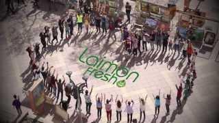 Флэшмоб | Laimon Fresh | Dance Studio Focus | г.Алматы(Наш Флэшмоб. Спасибо всем кто принимал участие. Пожелания можете оставлять под этим видео или http://vk.com/laimonfresh..., 2013-05-11T16:58:40.000Z)