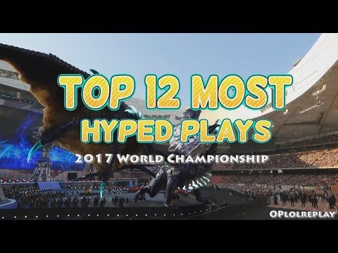 Top 12 Most Hyped Plays