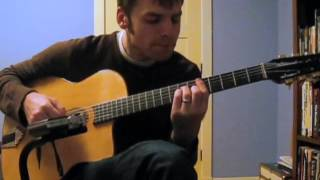 Hushabye Mountain, acoustic guitar instrumental