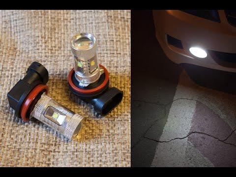 Откровенный обман - LED лампы H11 30W (Реальное потребление 3W!)