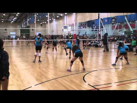 Offshore Volleyball 12-2 vs Wave 11 (Match 1) 2/22/15