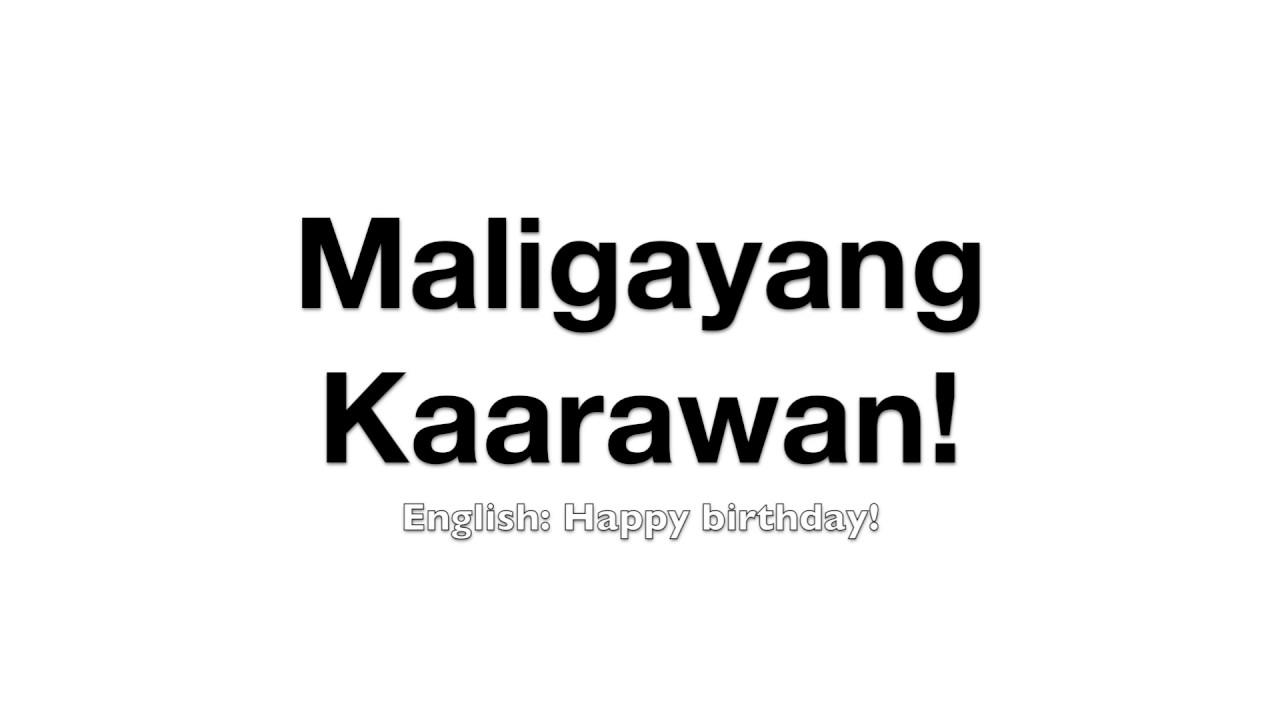 Maligayang pagdating in kapampangan songs