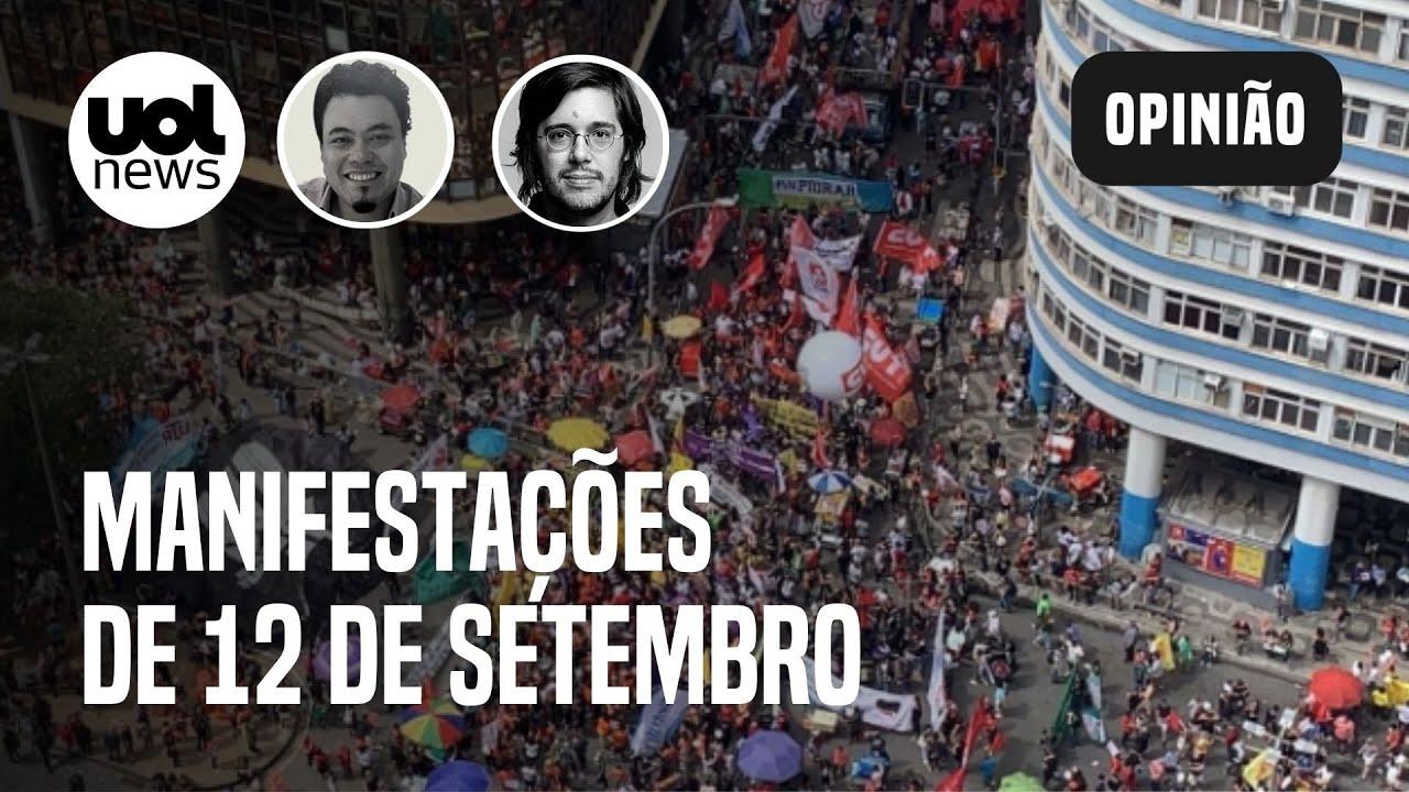 Download Nem Lula, nem Bolsonaro? Manifestações de 12 de setembro e MBL dividem opiniões   Joel e Sakamoto