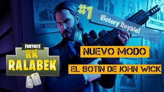 JOHN WICK'S BUTTON - New Fortnite Battle Royale Mode