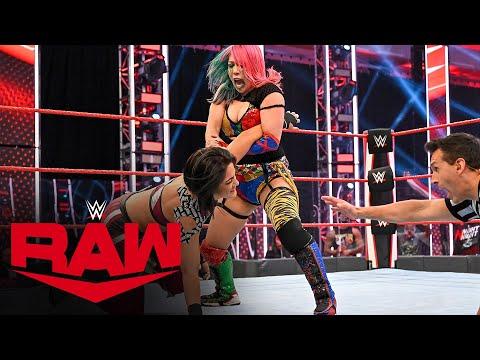 Asuka vs. Bayley – Champion vs. Champion Match: Raw, July 6, 2020