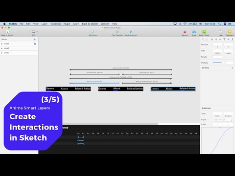 Create Interactions in Sketch– Anima Smart Layers (3/5) - YouTube