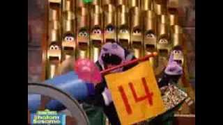 shalom sesame the count s number of the day arbah esre