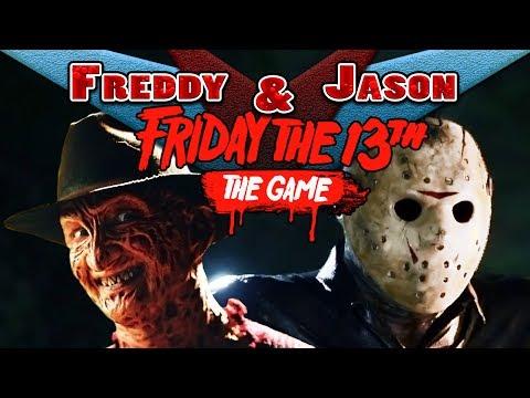 JASON & FREDDY PLAY - Friday the 13th | REAL LIFE GAMEPLAY PARODY!
