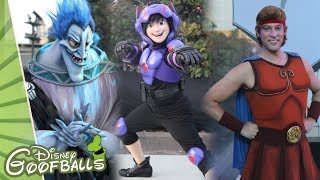 Special Disney Characters at Heroes & Villains Alley - Disney FanDaze Disneyland Paris 2018
