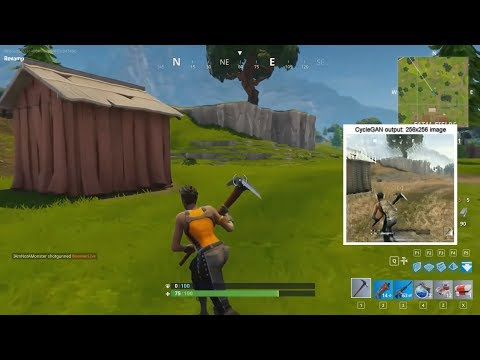 Turning Fortnite into PUBG with Deep Learning (CycleGAN)