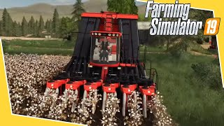 #88 - RACCOLTA DEL COTONE - FARMING SIMULATOR 19 ITA RUSTIC ACRES