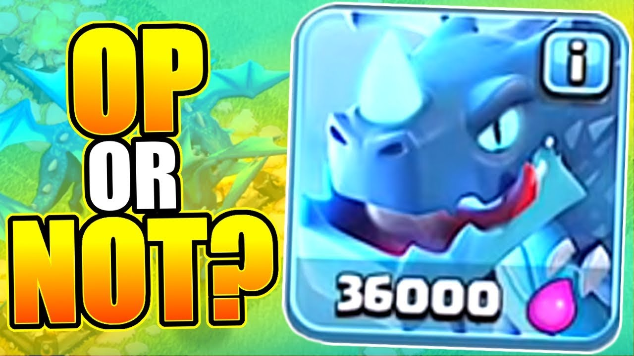 """UNLEASH THE """"ELECTRO DRAGON!"""" - FIRST LOOK NEW TROOP! - Clash Of Clans"""