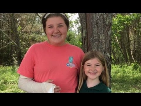 Thumbnail: 12-Year-Old Girl's Quick Thinking Saves Sister, 7, From Alleged Carjacker