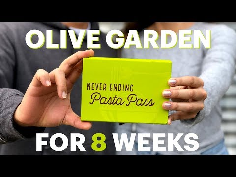 Christie James - Olive Garden Is Offering Pasta For Life Passes