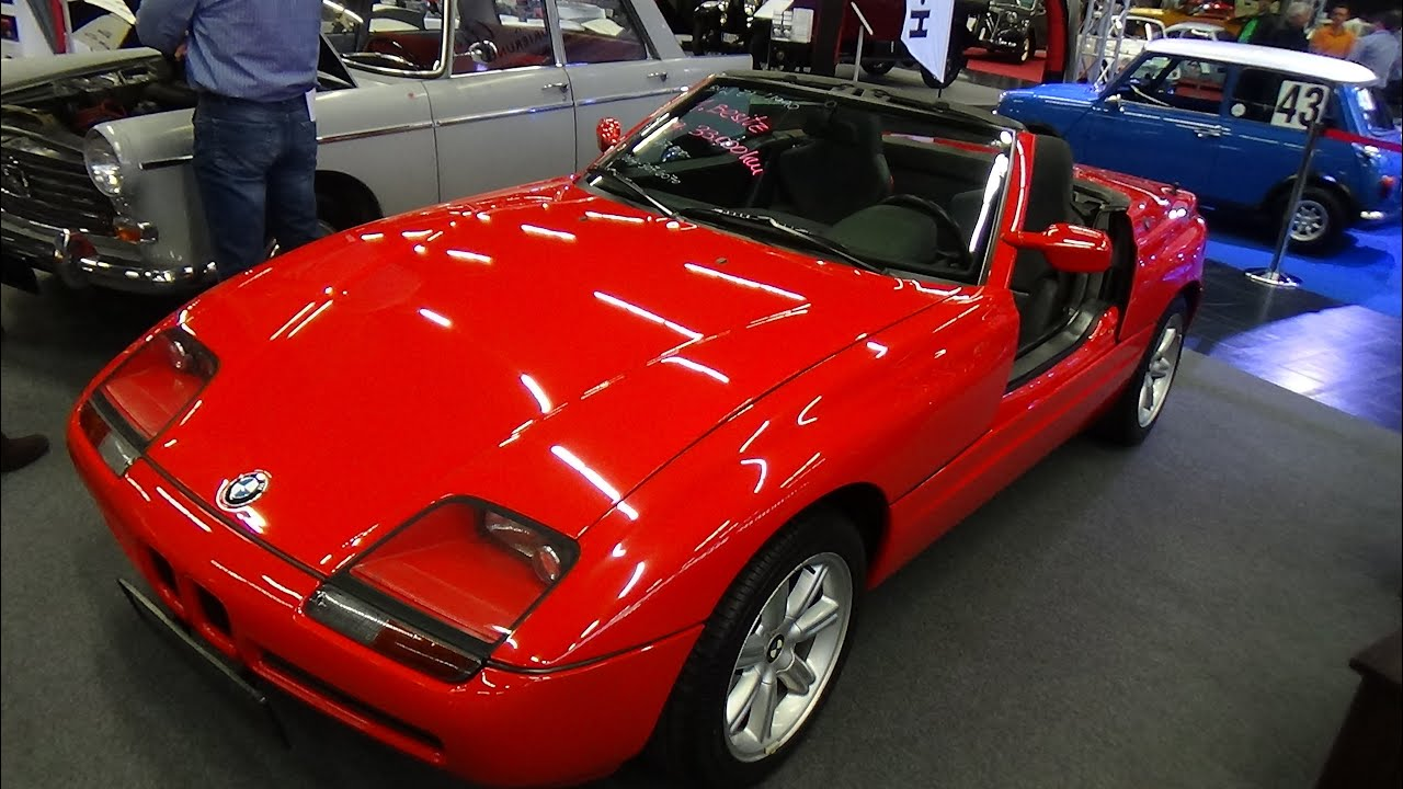 1990 bmw z1 exterior and interior classic expo salzburg 2015 youtube. Black Bedroom Furniture Sets. Home Design Ideas