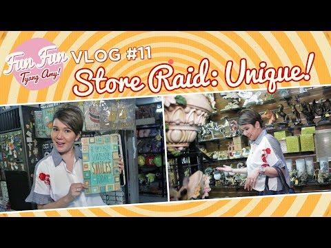 [Fun Fun Tyang Amy] Vlog 11 : Store Raid - Unique Novelties And Toys thumbnail