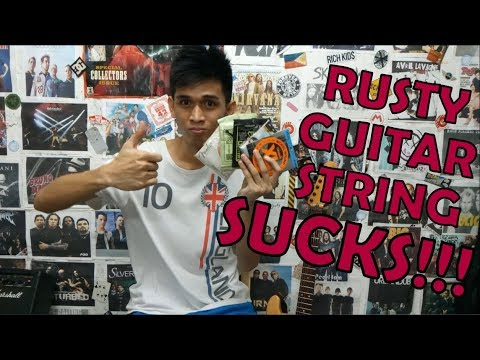 Cheap Way To Prevent Guitar Strings From Rusting?!?(Tips and Tricks#2)