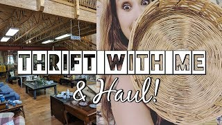 Thrift with Me+Collective Home Decor Thrift Haul!