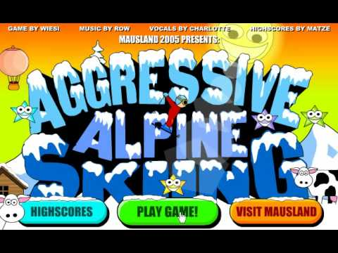 Aggressive Alpine Skiing complete! EXTREMELY GOOD SCORE!
