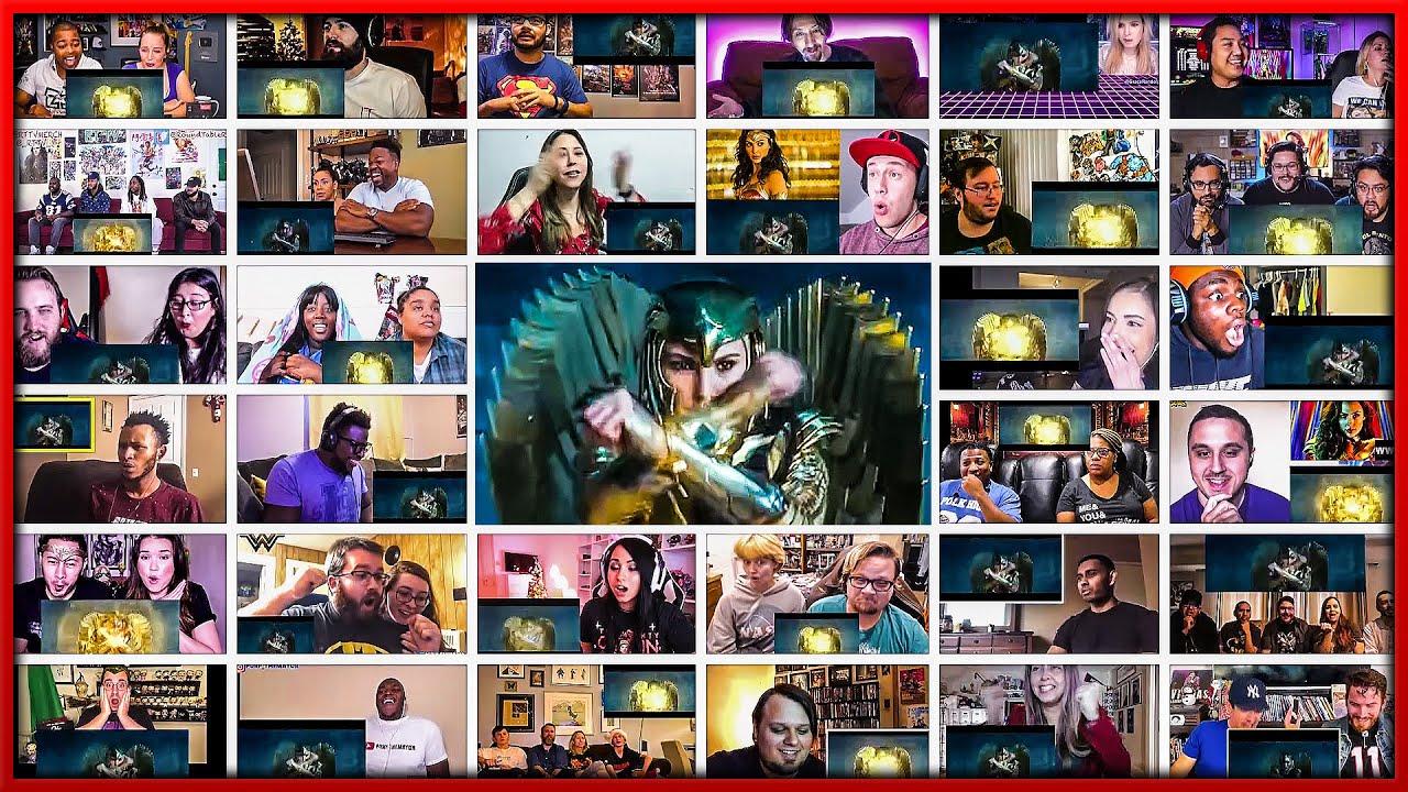 Wonder Woman 1984 Trailer Mega Reactions Mashup Youtube