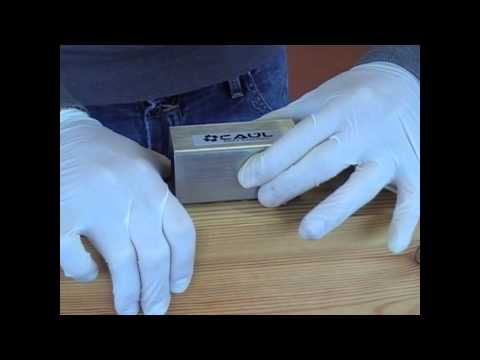 Repair wood with our resin