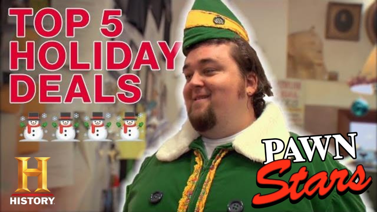 Download Pawn Stars: 5 GOLDEN HOLIDAY DEALS (Rick's Rare Christmas List)   History