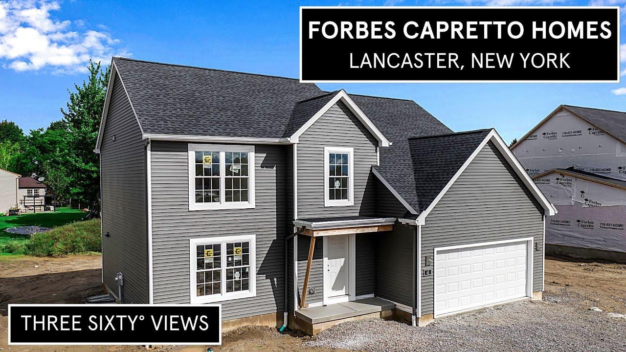Forbes Capretto Homes 46 Deepwood, Lancaster, NY 14086 Video