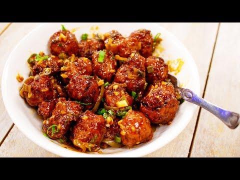 Cabbage Manchurian Recipe | Restaurant Style Veg Manchuria - Indo Chinese CookingShooking
