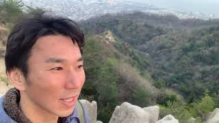 六甲山のピラミッド荒地山へ その13 帰り道にゼロ磁場にて語り by 龍宮道場 とらちゃん