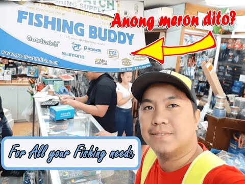 Paano puntahan ang Fishing Buddy |Another Tackle Shop in Manila