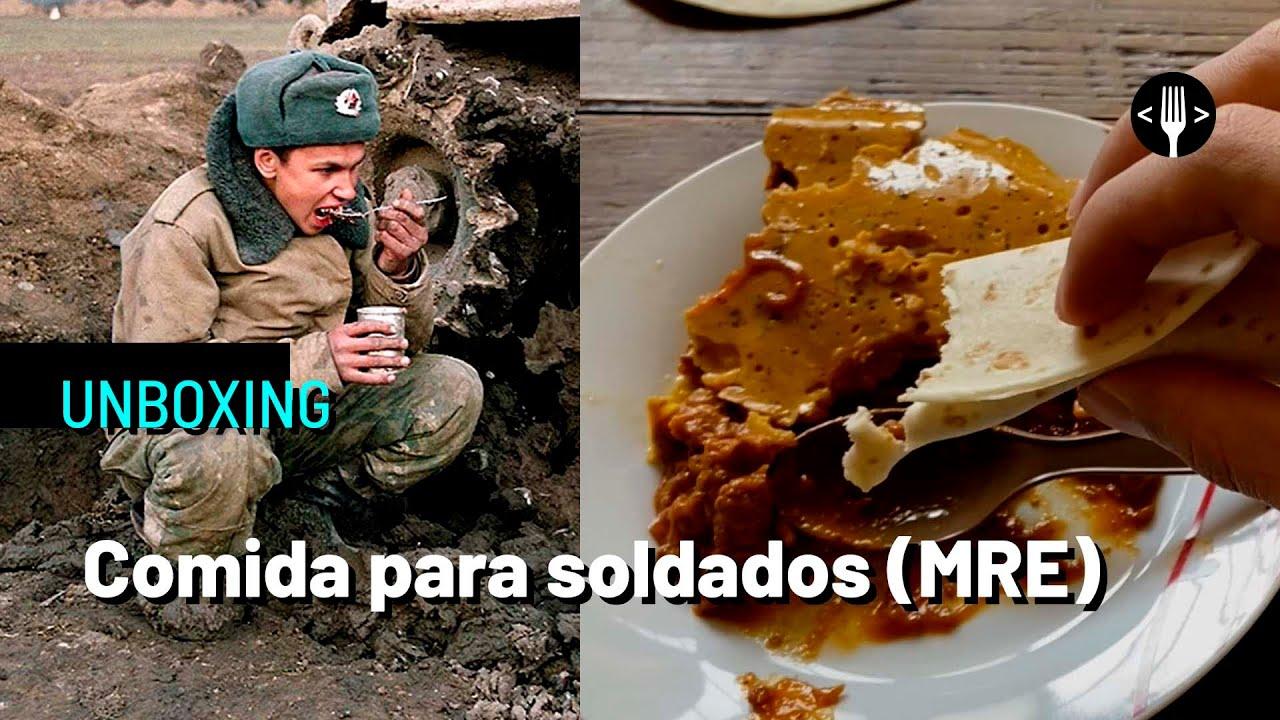 ¿Qué comen los soldados en batalla?